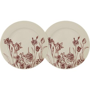 Набор из 2-х десертных тарелок LF Ceramic Эдем (AL-55E2258-O-LF) салатник lf ceramic эдем al 300f9489 lf