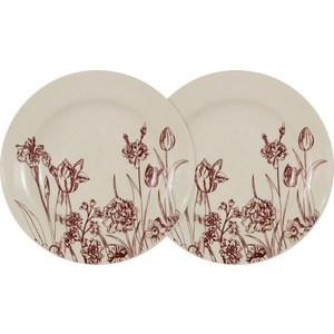 Набор из 2-х суповых тарелок LF Ceramic Эдем (AL-80E2256-O-LF) салатник lf ceramic эдем al 300f9489 lf