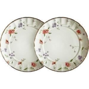Набор из 2-х десертных тарелок Colombo Флёр (C2-AP_2-3701AL) столовая посуда colombo овальное блюдо флёр c2 op 12 3701al
