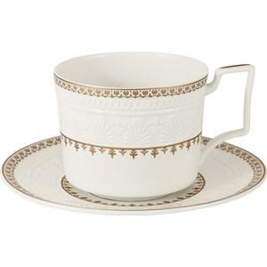 Чашка с блюдцем Colombo Золотой замок (C2-CS-6962)