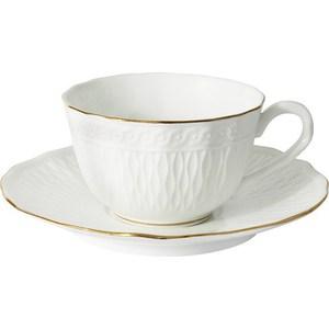 Чашка с блюдцем Colombo Бьянка (C2-CS-K4815AL) чашка с блюдцем colombo золотой замок c2 cs 6962