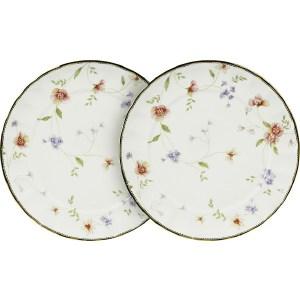 Набор из 2-х обеденных тарелок Colombo Флёр (C2-DR_2-3701AL) столовая посуда colombo овальное блюдо флёр c2 op 12 3701al