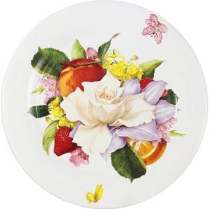Тарелка обеденная Ceramiche Viva Фреско (CV2-T01-07048-AL) ceramiche viva яблоки и камелии cv2 48144 al