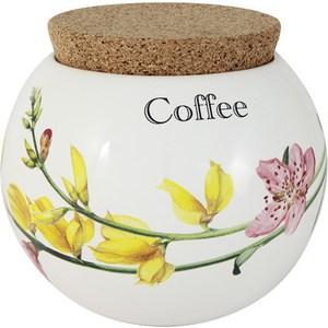 Банка для сыпучих продуктов (кофе) Ceramiche Viva Фреско (CV2-T08-98048-AL) ceramiche viva яблоки и камелии cv2 48144 al