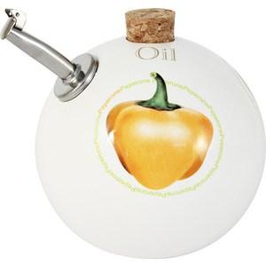 Бутылка для масла Ceramiche Viva Томаты и перцы (CV2-T09-06021-AL) ceramiche viva яблоки и камелии cv2 48144 al