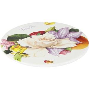 Блюдо круглое Ceramiche Viva Фреско (CV2-T11-08048-AL) ceramiche viva яблоки и камелии cv2 48144 al