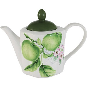 Заварочный чайник 1.0 л Imari Зеленые яблоки (IM15018A_1-A2211AL) банка для сыпучих продуктов imari зеленые яблоки im55060 1 a2211al