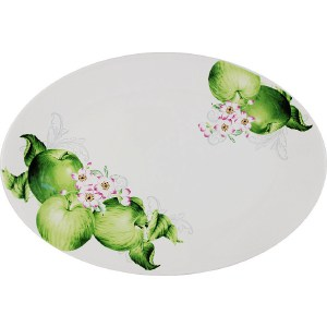 Блюдо овальное Imari Зеленые яблоки (IMC1185-A2211AL)