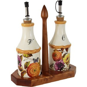 Набор из 2-х бутылок для масла и уксуса LCS Элеганс (LCS072L-E-AL)