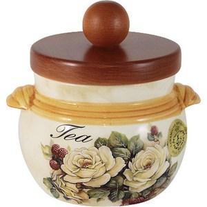 Банка для сыпучих продуктов (чай) LCS Роза и малина (LCS670PLT-RM-AL) plt медицина