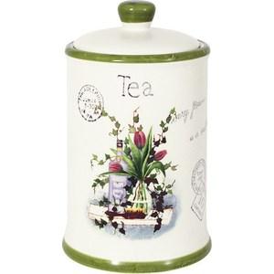 Банка для сыпучих продуктов (чай) Anna Lafarg LF Ceramics Букет (AL-175F6294-B-LF) банка для сыпучих продуктов чай anna lafarg lf ceramics букет al 175f6294 b lf