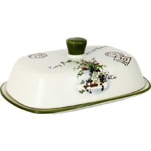 Масленка Anna Lafarg LF Ceramics Букет (AL-190F6298-B-LF) масленка lf ceramic птичье молоко al 190f6298 lf