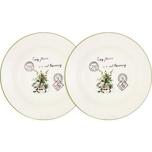 Набор из 2-х суповых тарелок LF Ceramic Букет (LF-80E2256-3-AL)