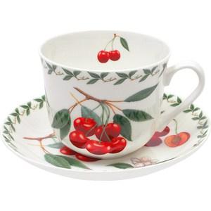 Чашка с блюдцем Maxwell & Williams Вишня (MW637-PB8102) чашка с блюдцем вишня в подарочной упаковке 1227827