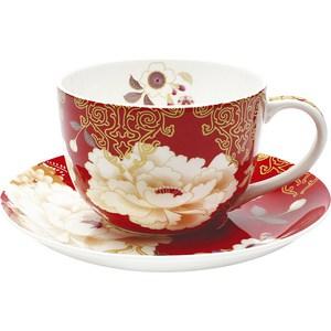 Чашка с блюдцем Maxwell & Williams Кимоно красный (MW637-PK0413)