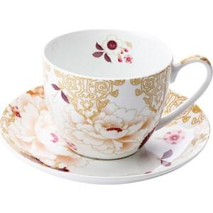 Чашка с блюдцем Maxwell & Williams Кимоно белый (MW637-PK0427) maxwell mw 2601 pk