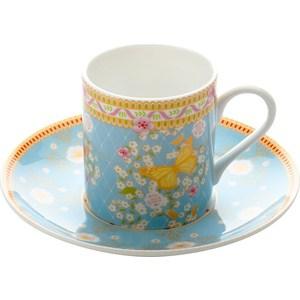 Чашка с блюдцем Maxwell & Williams Жаклин (MW637-SB15300)