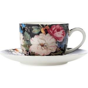 Чашка с блюдцем Maxwell & Williams Полночные цветы (MW637-WK01100)