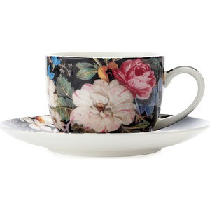 Чашка с блюдцем Maxwell & Williams Полночные цветы (MW637-WK01100) maxwell