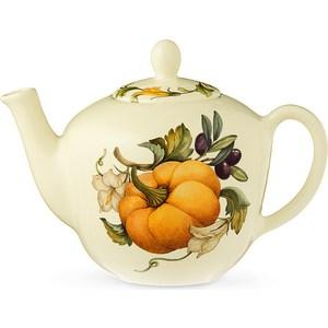 Заварочный чайник 1.0 л Nuova Cer Тыква (NC7360-ODN-AL) чайник заварочный nuova cer итальянские фрукты 1 л