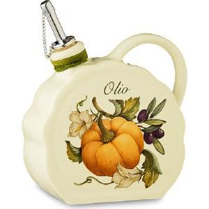 Бутылка для масла Nuova Cer Тыква (NC7386-ODN-AL) столовая посуда nuova cer чайник аральдо кремовый nc8304 avr al