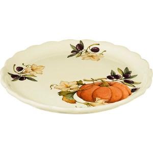 Тарелка обеденная Nuova Cer Тыква (NC7410_2-ODN-AL) поиск семена тыква марсельеза