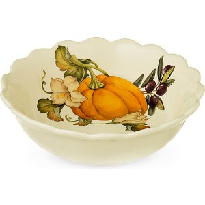 Тарелка суповая Nuova Cer Тыква (NC7410_3-ODN-AL) поиск семена тыква марсельеза