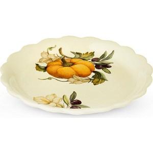 Тарелка закусочная Nuova Cer Тыква (NC7410_4-ODN-AL) чайник заварочный nuova cer итальянские фрукты 1 л
