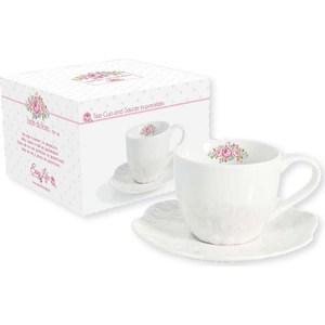 Чашка с блюдцем Easy Life (R2S) Розовый сад (R2S1255_DERO-AL)