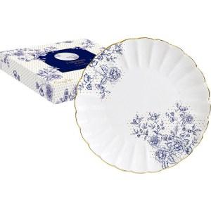 Тарелка десертная Easy Life (R2S) Голубые пионы (R2S1287_BLUP-AL)