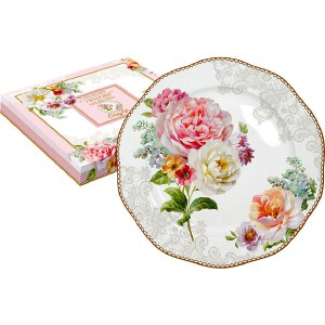 Тарелка десертная Easy Life (R2S) Цветочная романтика (R2S376_ROLC-AL) тарелка для пасты easy life r2s прованс r2s818 prov al