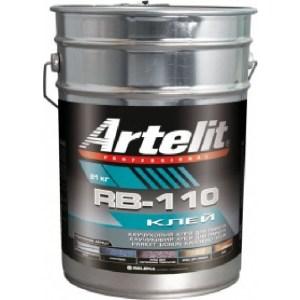 Клей для паркета ARTELIT RB-110 каучуковый 21кг.