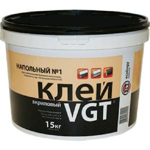 Клей напольный VGT №1 эконом 15кг.