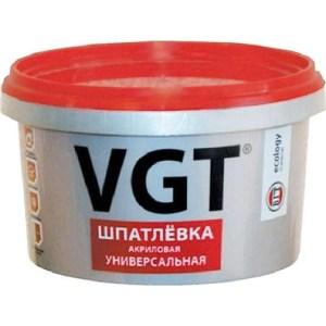 Шпатлевка VGT готовая универс.акриловая 7.5кг.