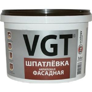 Шпатлевка VGT готовая фасадная 7.5кг.