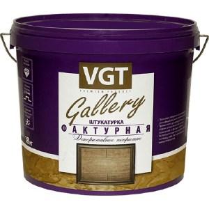 Штукатурка декоративная VGT фактурная ВГТ ведро 9кг. штукатурка фактурная мокрый шелк серебристо белая вгт 6кг