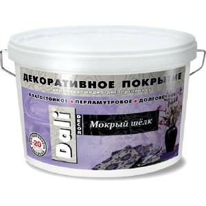 Штукатурка декоративная РОГНЕДА DALI-DECOR мокрый шелк 5кг.