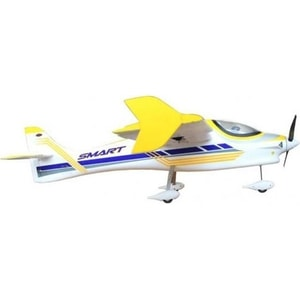 Радиоуправляемый самолет Dynam Smart Trainer 2.4G rc dynam smart trainer airplane 4 channel ready to fly 1500mm wingspan rc plane model rtf dy8962