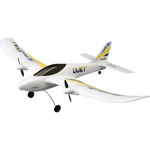 Радиоуправляемый самолет HobbyZone Duet 2.4G квадрокоптер hobbyzone zugo 2mp видеокамера