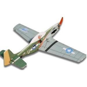 Радиоуправляемый самолет TechOne P 51D EPP KIT cymodel mustang p 51d 46 cy8011a