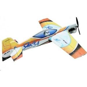 Радиоуправляемый самолет TechOne Yak54 1100 EPP COMBO водолазки yak more водолазка