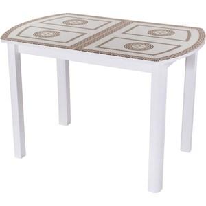 Стол Домотека Гамма ПО (-1 БЛ ст-71 04 БЛ) стол с ящиками витра 19 71