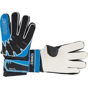 Перчатки вратарские Torres Training FG05048-BU р. 8 р мигалки