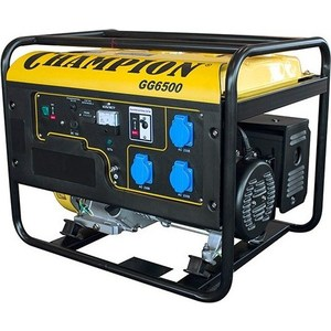 Генератор бензиновый Champion GG6500EBS бензиновый генератор champion gg1300