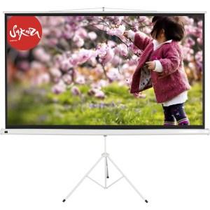 Экран для проектора Sakura 220x220 TriScreen 1:1 напольный 123 натяжной экран для проектора classic solution norma 220x220 1 1