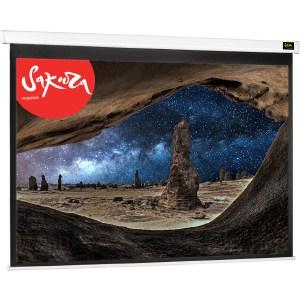 Экран для проектора Sakura 250x250 Motoscreen 1:1 настенно-потолочный белый (моторизованный) 139''