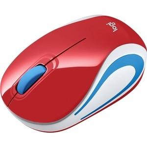 Мышь Logitech M187 Red