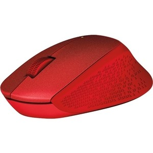 Мышь Logitech M330 Silent Plus Red silent treatment