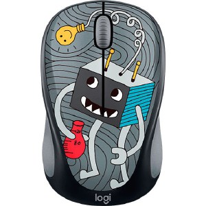 Мышь Logitech M238 Doodle Collection LIGHTBULB kingma dual 2 channel np fw50 battery charger for sony a5000 a5100