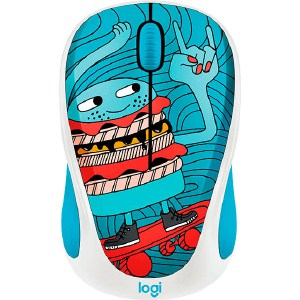 все цены на Мышь Logitech M238 Doodle Collection SKATEBURGER онлайн